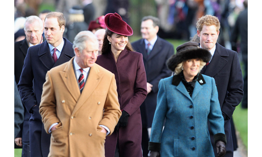 <strong>First Christmas as a royal: December 2011