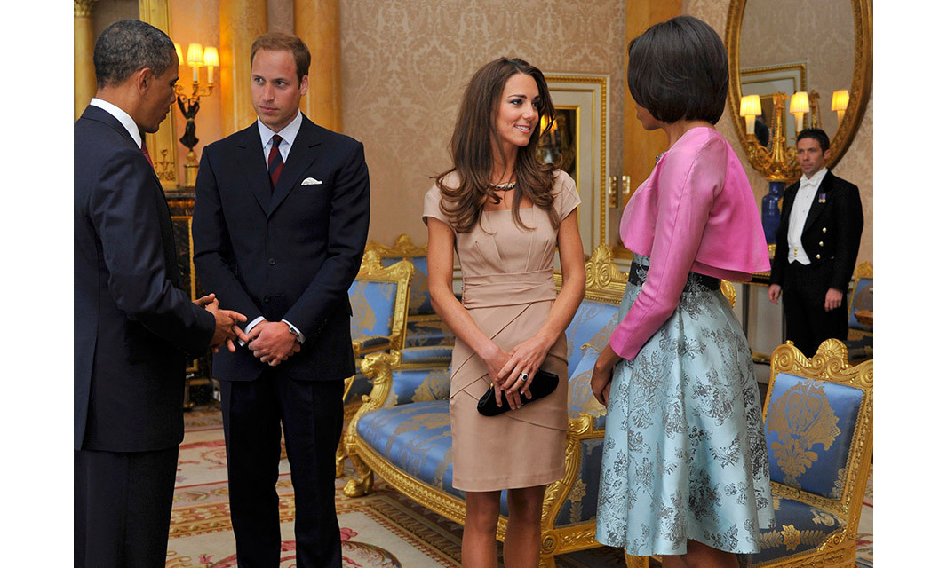 <strong>First official duty as a married woman: May 2011