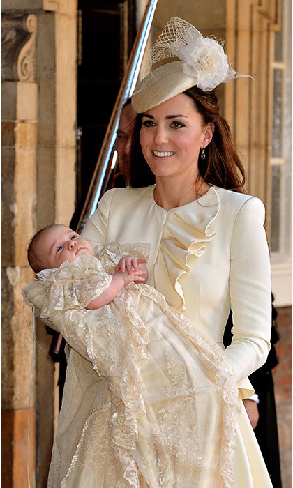 <strong>Prince George's christening: October 2013