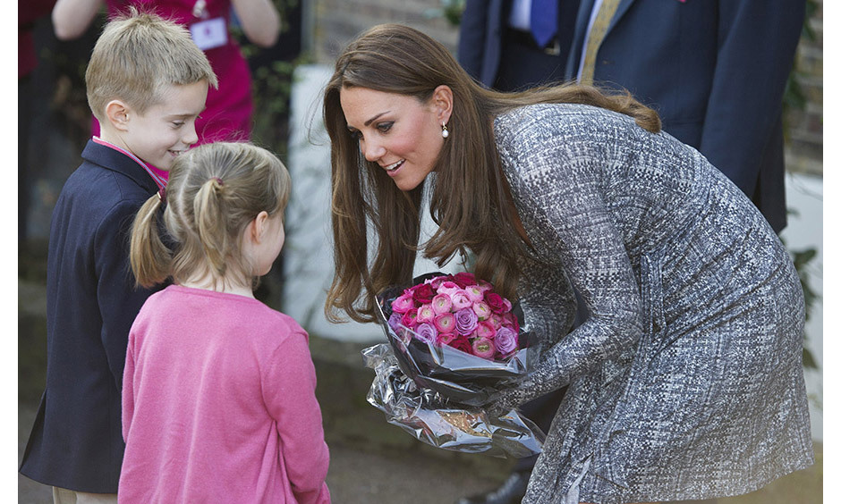 <strong>Adding to her charity workload: February 2013