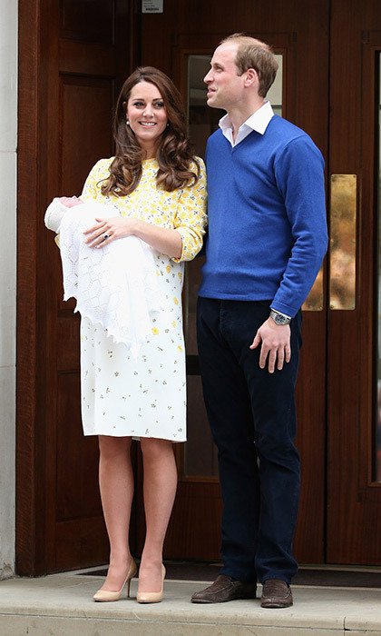 <strong>Princess Charlotte's birth: May 2015