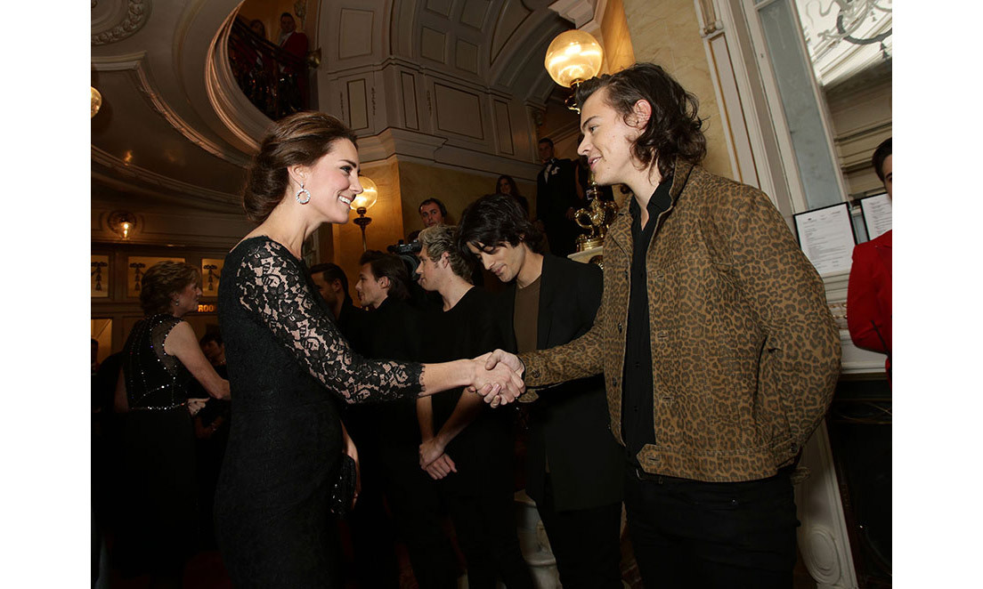 <strong>Mixing with music royalty: November 2014