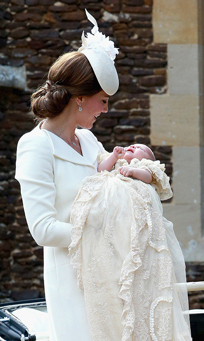 <strong>Princess Charlotte's christening: July 2015