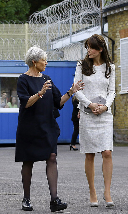 <strong>Kate's surprise prison visit: September 2015