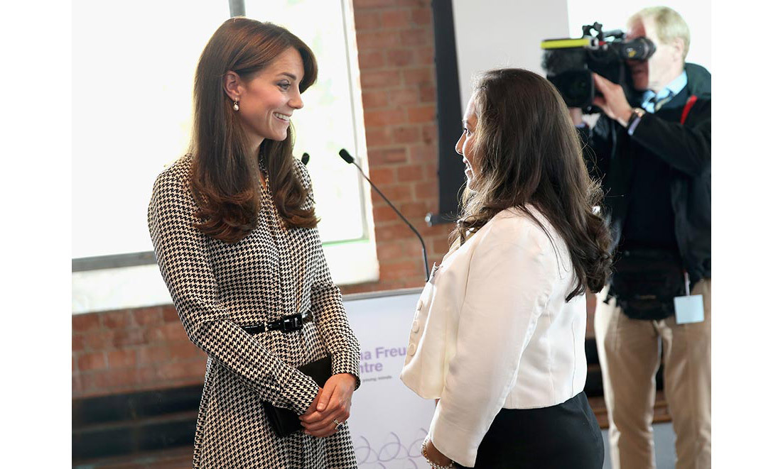 <strong>Kate returns from maternity leave: September 2015
