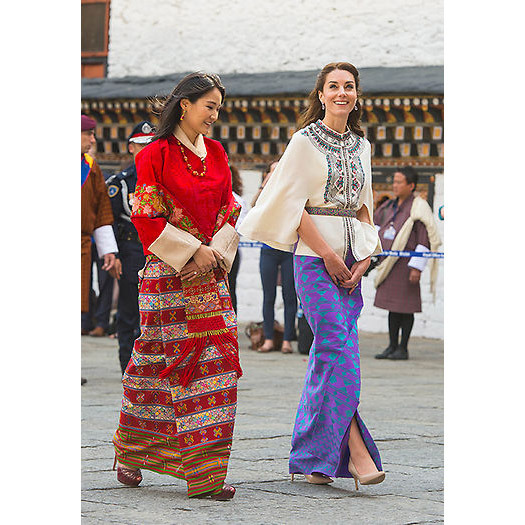 <strong>Meeting the Queen of Bhutan: April 2016