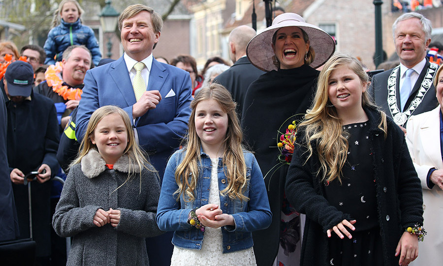 The Dutch Royal Family Is All Smiles At King S Day