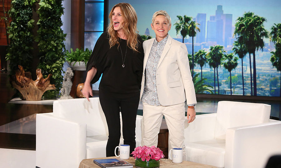 Julia Roberts joked about her children's reactions after she joined Taylor Swift on stage.