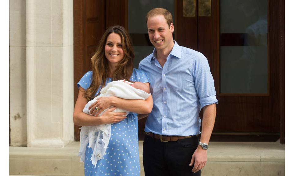 <strong>After the birth of Prince George in 2013, William said affectionately: