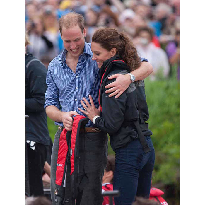 <strong>During their royal tour of Canada in 2011, Kate said of William:</strong>