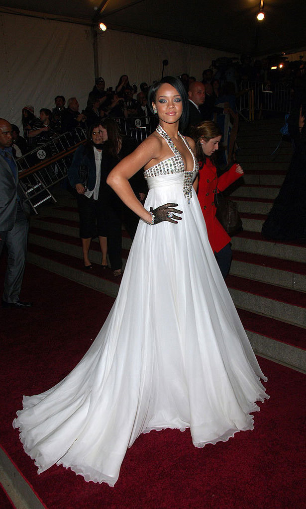 <strong>2007, Poiret: King of Fashion</strong><br>Rihanna, Georges Chakra