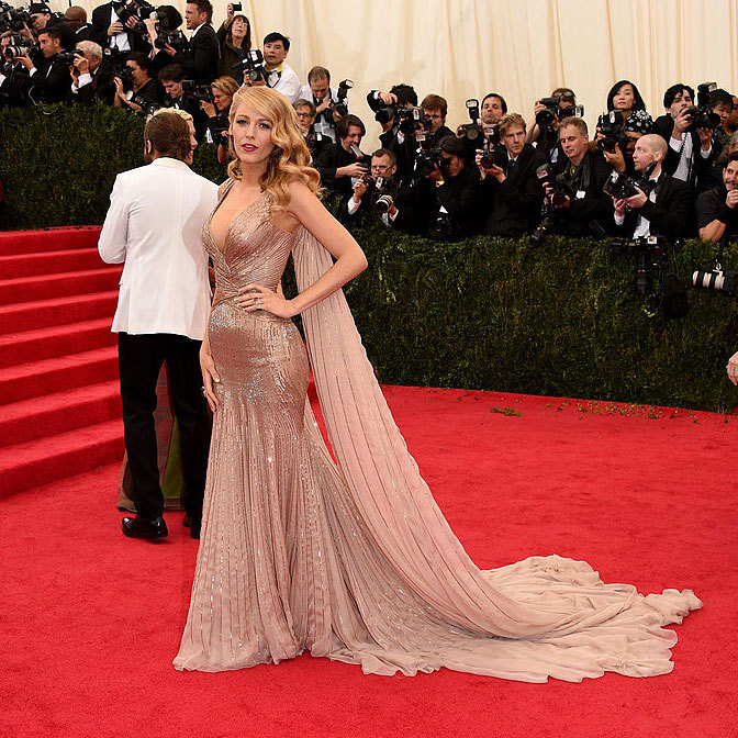 <strong>2014, Charles James: Beyond Fashion</strong><br>Blake Lively, Gucci