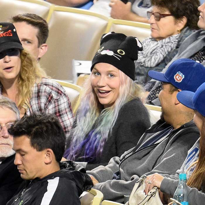 This week, a happy and healthy looking Kesha took in a Dodgers game with friends and family. The singer also released her first single since her very public legal battle with former producer Dr. Luke. 