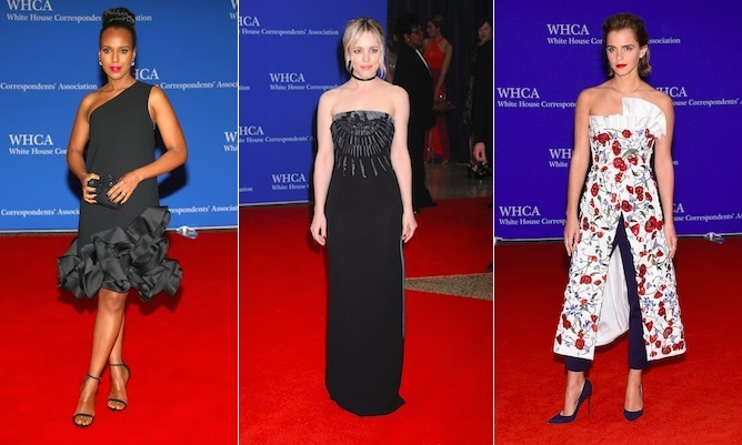 Famous faces from the silver screen to Hollywood and Bollywood legends dressed up to the nines to celebrate U.S. President Barack Obama's last ever White House Correspondents' Association Dinner on Saturday night.