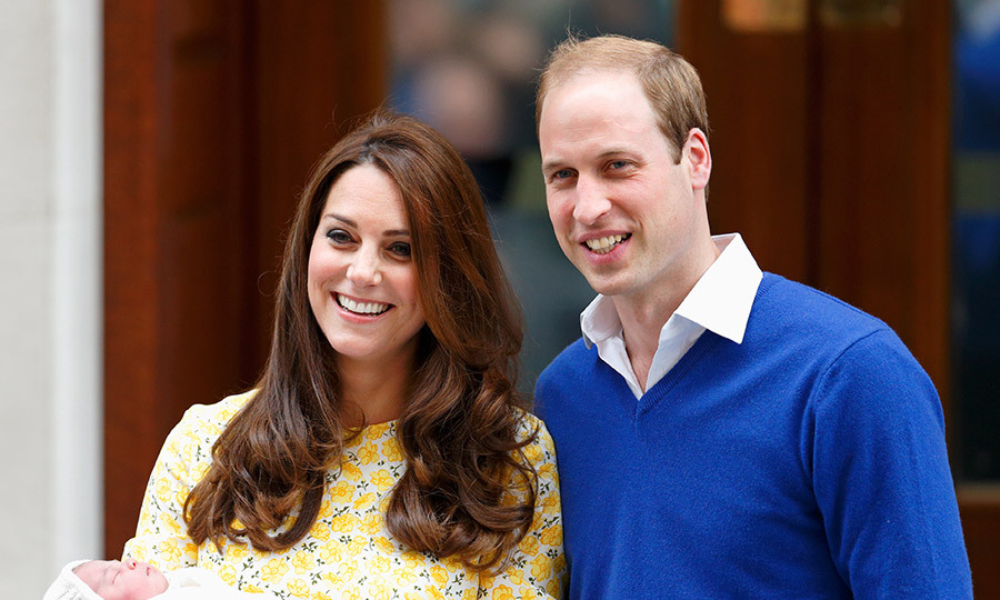 The Duke and Duchess of Cambridge welcomed their second child at 8.34am on May 2 2015, weighing 8 lbs 3 oz.
