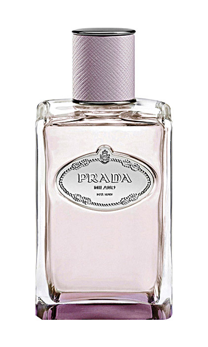"Les Infusions de Prada eau de Parfum Oeillet, $175 for 100 mL at Hudson's Bay, in Prada Shops and <em><a href=""http://prada.com"" target=""_blank"">prada.com</a></em>"