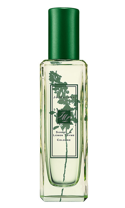 "Jo Malone London Sorrel &amp; Lemon Thyme Cologne, $80 for 30 mL, <em><a href=""http://jomalone.ca"" target=""_blank"">jomalone.ca</a></em>"