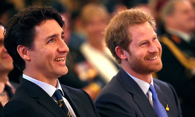 Prince Harry was joined by Prime Minister Justin Trudeau at the official launch ceremony for the 2017 Toronto Invictus Games.<br>Photo: © Nathan Denette/CP