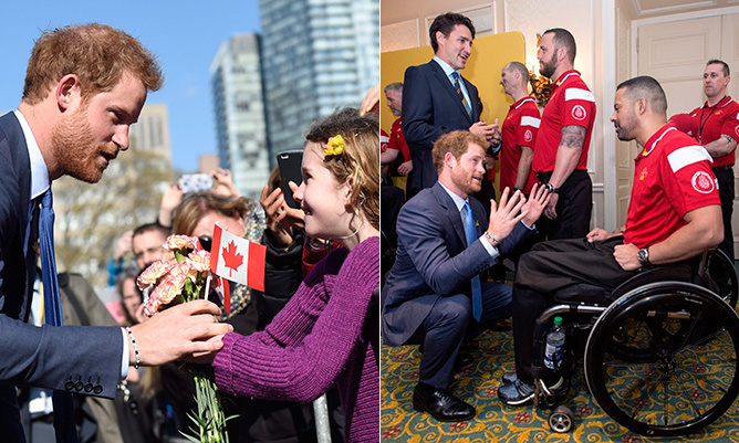 The buzz in Toronto was palpable on Monday (May 2) as Prince Harry descended on the city to launch the countdown to the 2017 Invictus Games. 