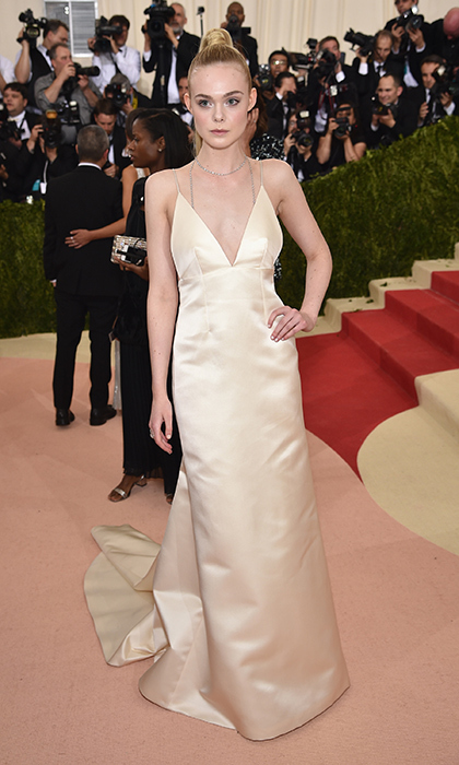 Elle Fanning in Thakoon