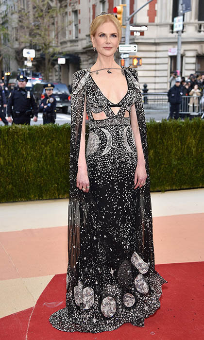 Nicole Kidman in Alexander McQueen