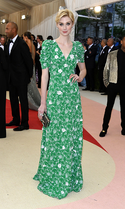 Elizabeth Debicki in Prada