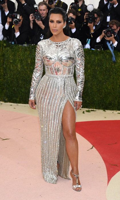 Kim Kardashian In Balmain