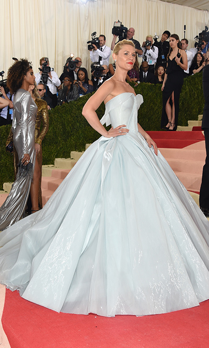 Claire Danes in Zac Posen