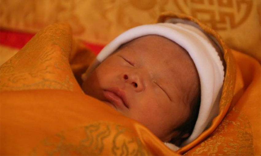 The Bhutanese royal baby was born on 5 February.  Photo: © Facebook