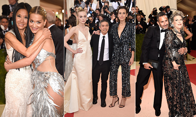The fashion at the 2016 Met Gala was as much about the genius minds that designed it as it was the A-listers who showed it off. 