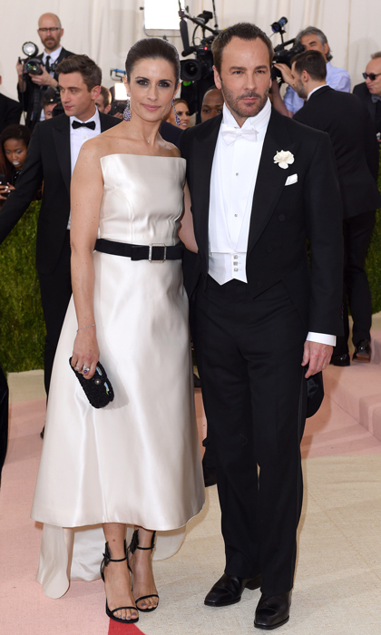 Livia Firth & Tom Ford