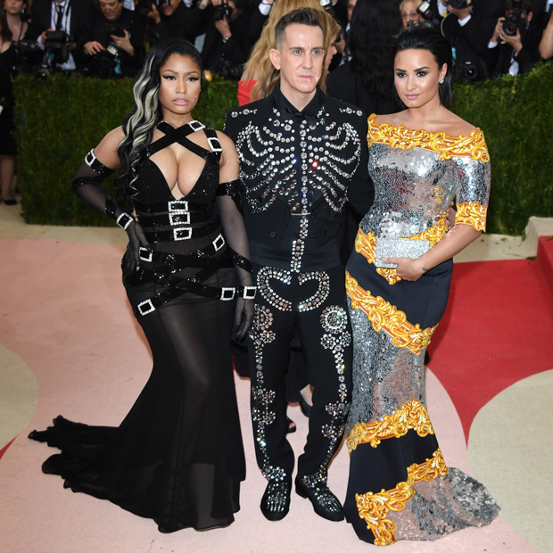 Nicki Minaj, Jeremy Scott & Demi Lovato