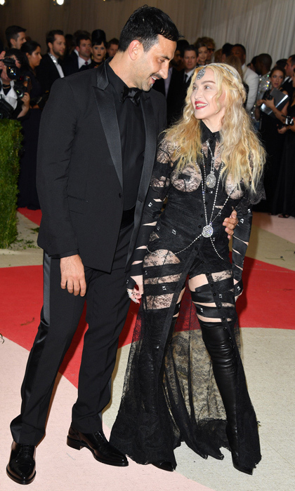 Madonna & Givenchy's Riccardo Tisci 