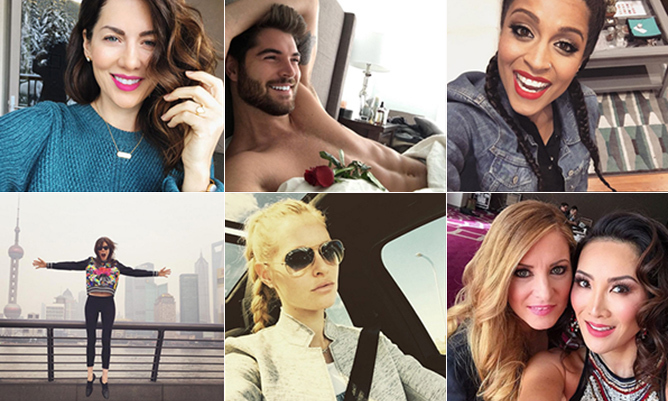 "Jillian Harris, Lilly Singh, Coco Rocha and more spill on selfies and then some. Click through for their top social-media tips and <a href=""http://hellomagazine.ca/cmb2016"" target=""_blank"">see who else made the list here!</a>"