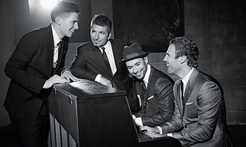 <h3>THE TENORS (FROM LEFT: CLIFTON MURRAY, REMIGIO PEREIRA, VICTOR MICALLEF AND FRASER WALTERS)</h3>