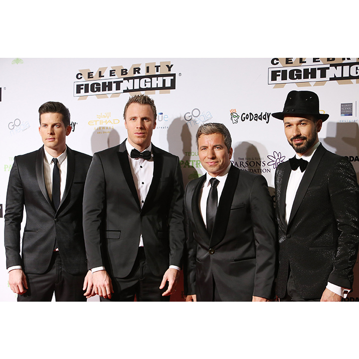<h3>The Tenors (Clifton Murray, Fraser Walters, Remigio Pereira and Victor Micallef)</h3>