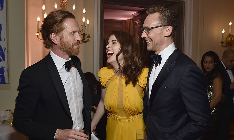 Some of Britain's finest exports, Damian Lewis, Michelle Dockery and Tom Hiddleston, laughed the night away at the White House Correspondents' Dinner in Washington. 
