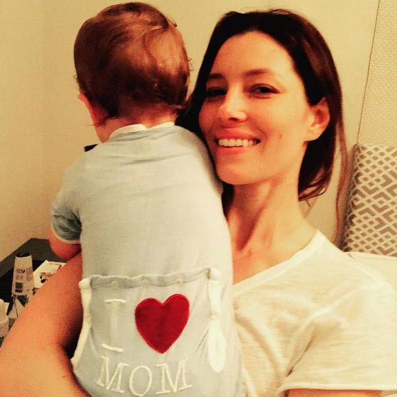 Jessica Biel gave a rare glimpse at her son Silas as she admitted it is only now she fully understands and appreciates everything her mum did for her as a child.