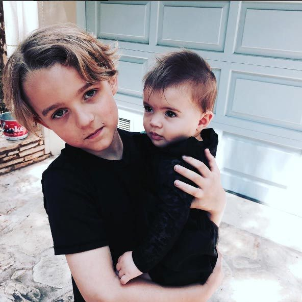 "Ashlee Simpson was made to feel ""real special"" by her children Bronx Mowgli and Jagger Snow. The doting mom shared a photo of the siblings together, telling fans: ""THESE 2 are making me feel real special today! Loving MOTHERS DAY. Happy Mother's Day to all you MoMs.""