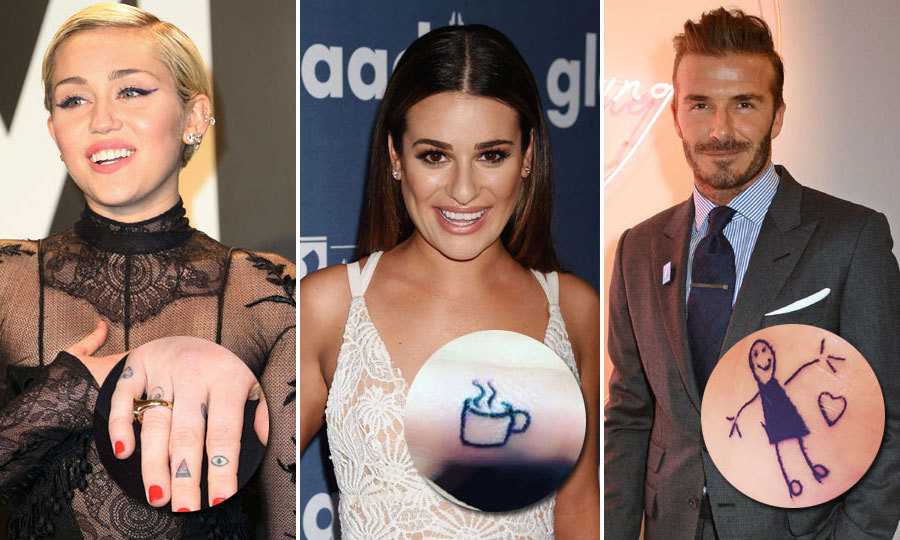 The Special Meanings Behind Celebrity Tattoos Hello Canada