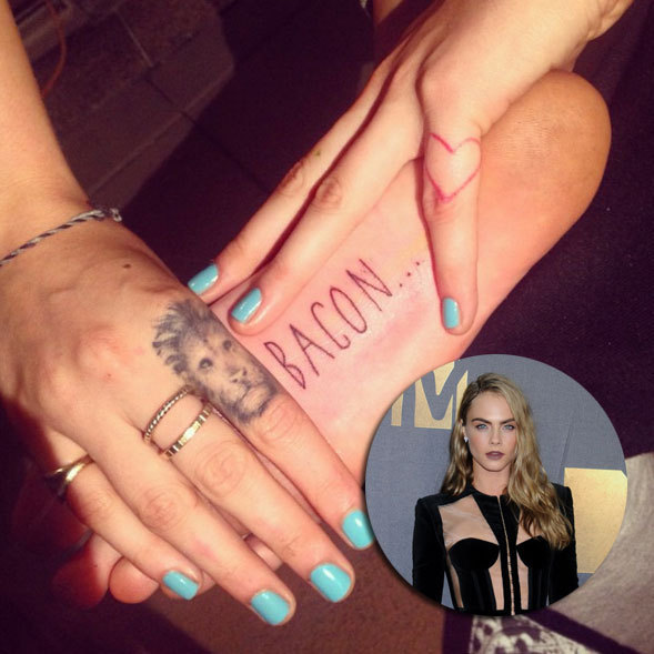 <h2>CARA DELEVINGNE</h2>