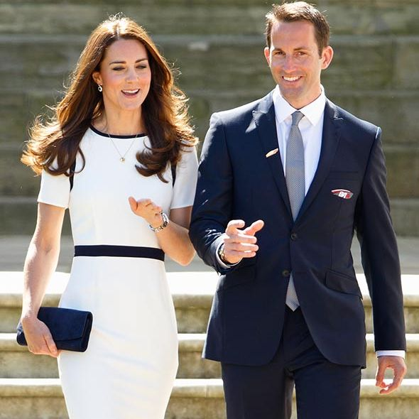 Kate is likely to meet with Sir Ben Ainslie, who launched the 1851 Trust, during her engagement.