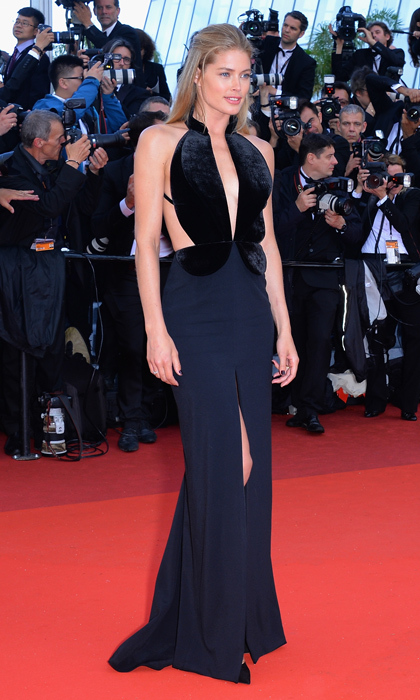 Doutzen Kroes in Brandon Maxwell