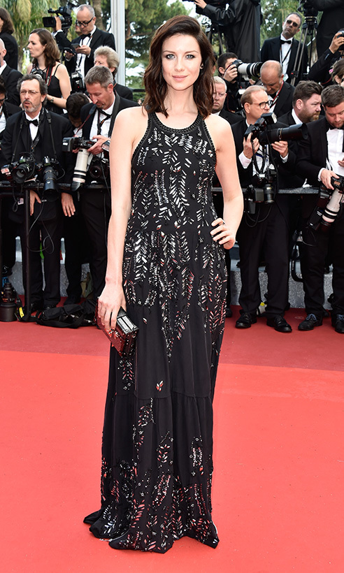 Caitriona Balfe in Louis Vuitton