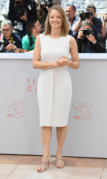 Jodie Foster in Max Mara