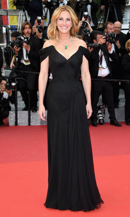 Julia Roberts in Armani Prive and Chopard