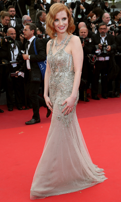 Jessica Chastain in Alexander McQueen