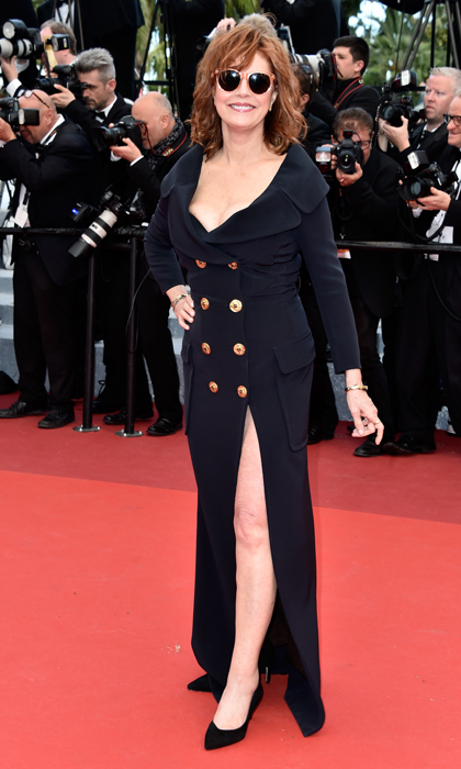 Susan Sarandon in Jean Paul Gaultier