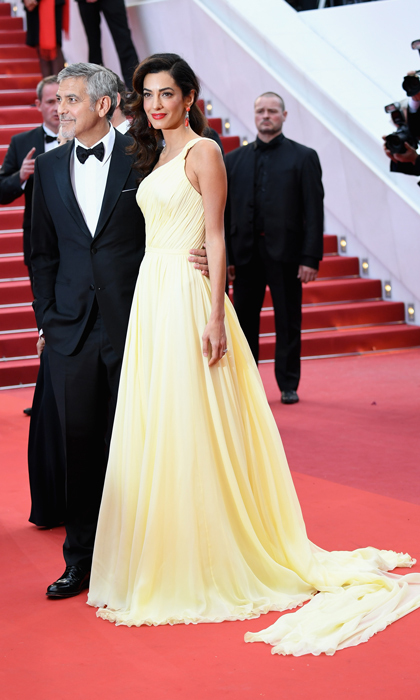 Amal Clooney in Atelier Versace