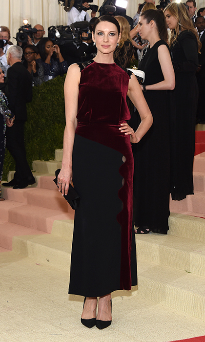 The Irish star turned heads in velvet Louis Vuitton at the 2016 Met Gala. 
